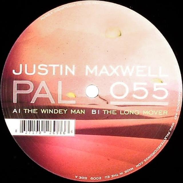 Justin Maxwell WINDEY MAN / LONG MOVER Vinyl Record