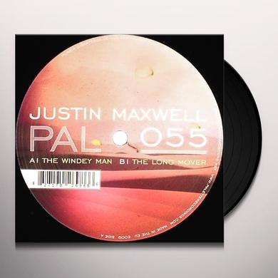 Justin Maxwell WINDEY MAN / LONG MOVER Vinyl Record
