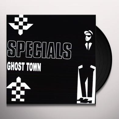 The Specials GHOST TOWN Vinyl Record - Limited Edition, Special Edition