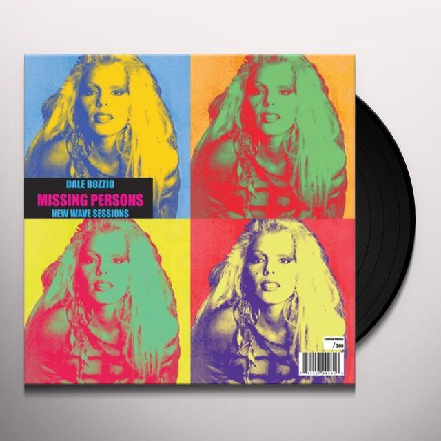 Dale Bozzio NEW WAVE SESSIONS Vinyl Record