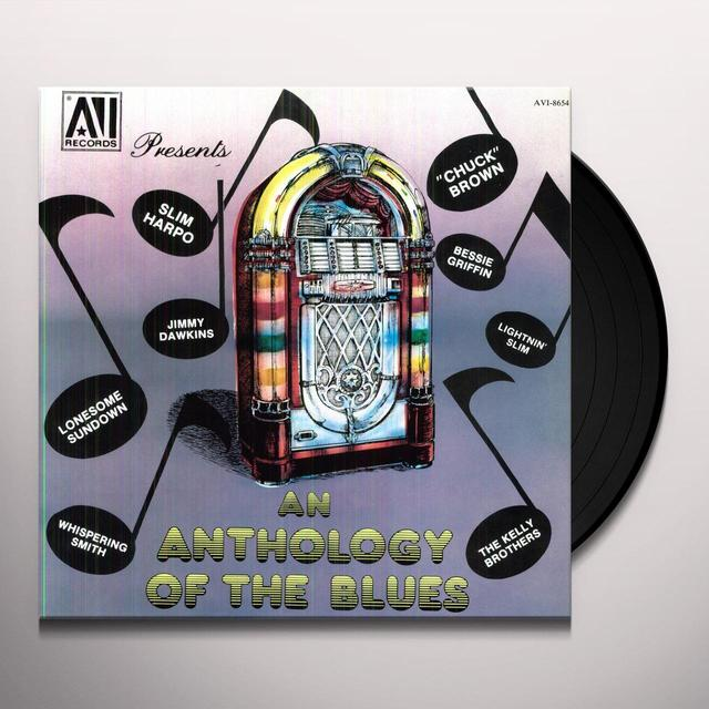 ANTHOLOGY OF THE BLUES / VARIOUS Vinyl Record