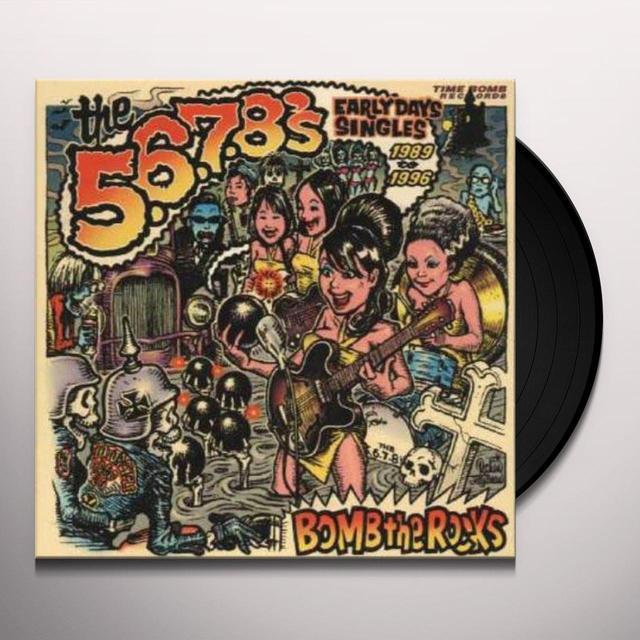 The 5.6.7.8's BOMB THE ROCKS: SINGLES Vinyl Record