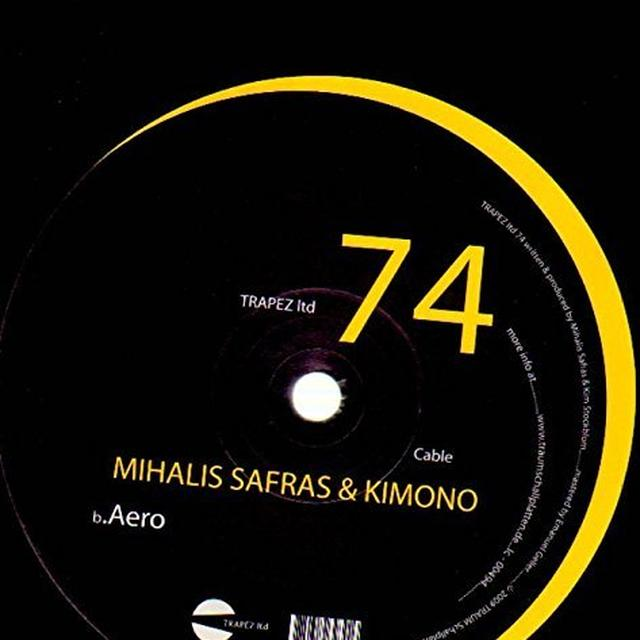 Mihalis Safras & Kimono CABLE Vinyl Record