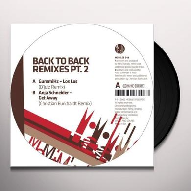 Anja Gummihz / Schneider BACK TO BACK REMIXES PT 2 Vinyl Record