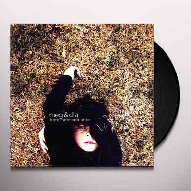 Meg & Dia HERE HERE & HERE Vinyl Record