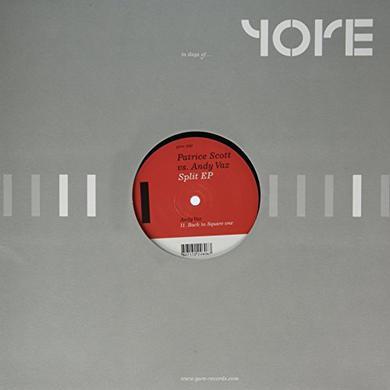 Patrice Scott / Andy Vaz SPLIT Vinyl Record