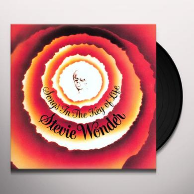 Stevie Wonder SONGS IN THE KEY OF LIFE Vinyl Record
