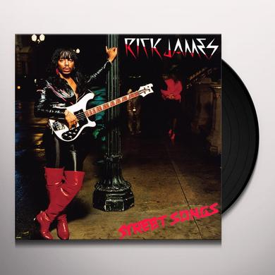 Rick James STREET SONGS Vinyl Record