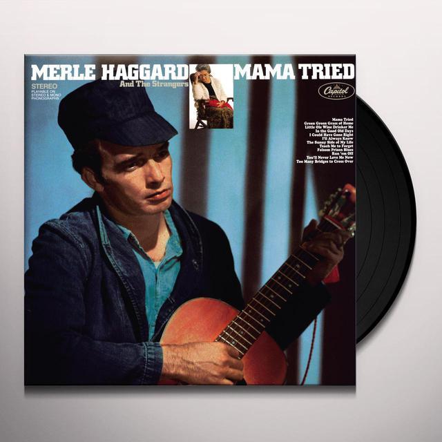 Merle Haggard MAMA TRIED Vinyl Record