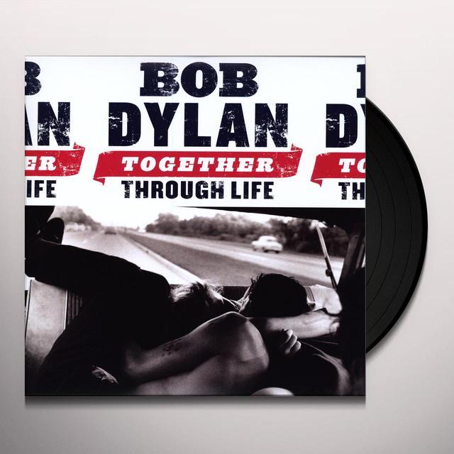 Bob Dylan TOGETHER THROUGH LIFE (BONUS CD) Vinyl Record - 180 Gram Pressing