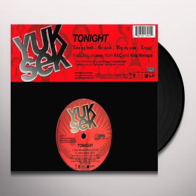 Yuksek TONIGHT (X4) Vinyl Record