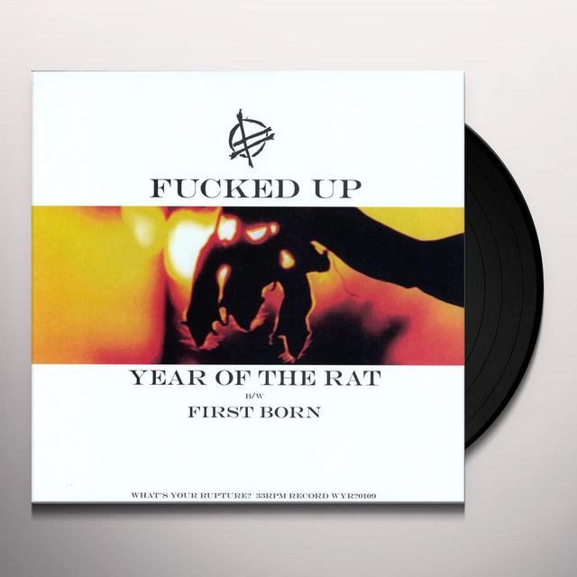 Fucked Up YEAR OF THE RAT Vinyl Record
