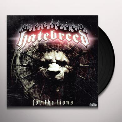 Hatebreed FOR THE LIONS Vinyl Record