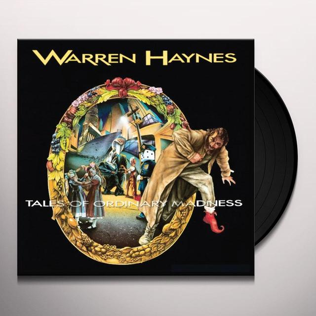 Warren Haynes TALES OF ORDINARY MADNESS Vinyl Record - 180 Gram Pressing