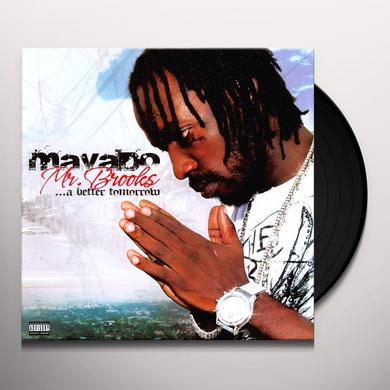 Mavado MR BROOKS A BETTER TOMORROW Vinyl Record