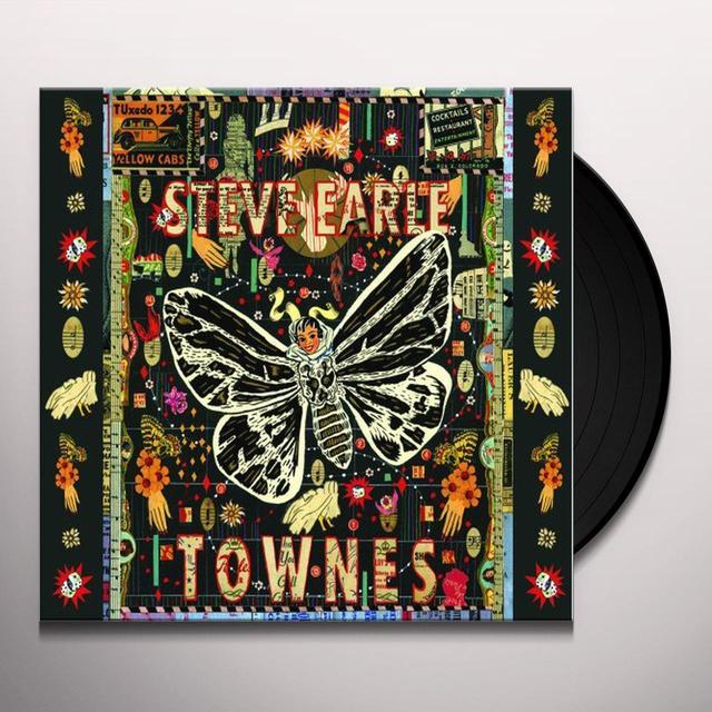 Steve Earle TOWNES Vinyl Record - 180 Gram Pressing