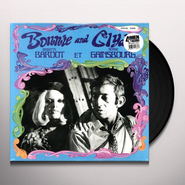 Serge Gainsbourg BONNIE & CLYDE Vinyl Record - 180 Gram Pressing