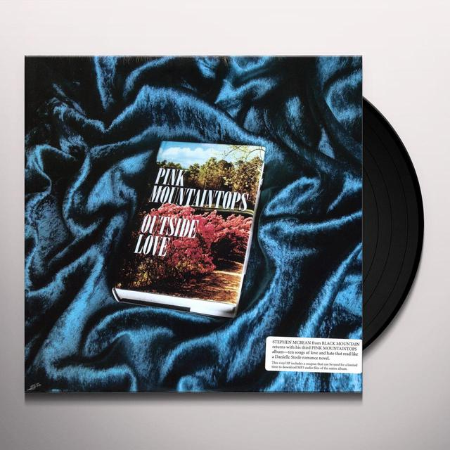 Pink Mountaintops OUTSIDE LOVE Vinyl Record - Digital Download Included