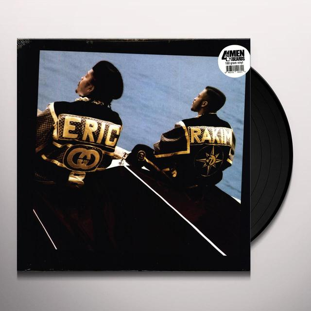 Eric B & Rakim FOLLOW THE LEADER Vinyl Record