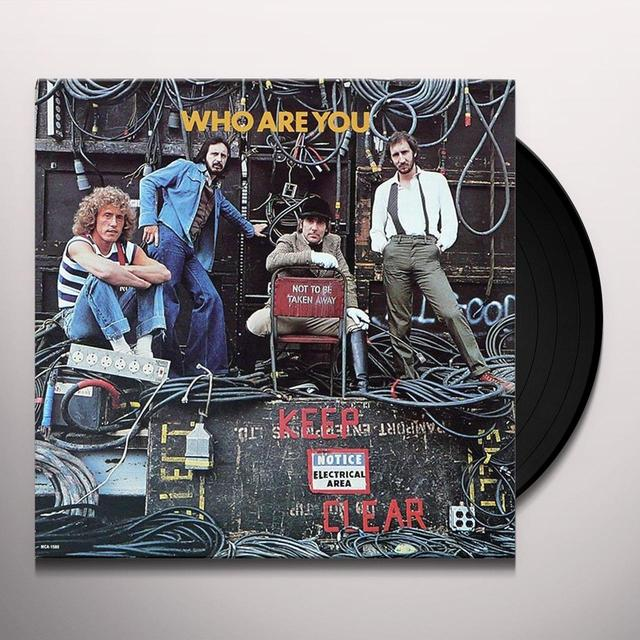 WHO ARE YOU (Vinyl)