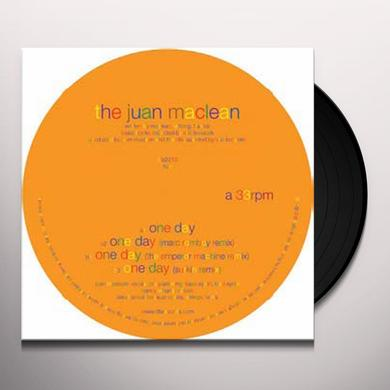 Juan Maclean ONE DAY Vinyl Record