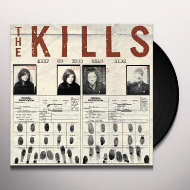 The Kills KEEP ON YOUR MEAN SIDE (BONUS TRACKS) Vinyl Record