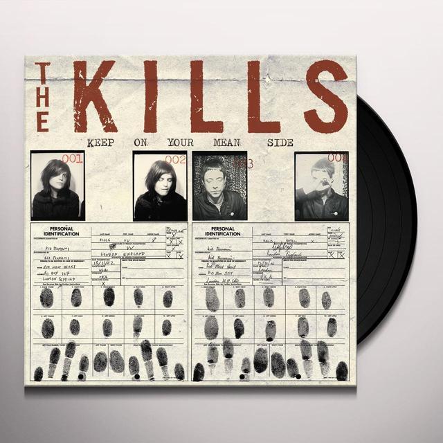 The Kills KEEP ON YOUR MEAN SIDE (BONUS TRACKS) Vinyl Record