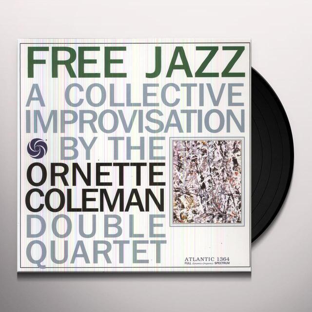 Ornette Coleman FREE JAZZ Vinyl Record - 180 Gram Pressing