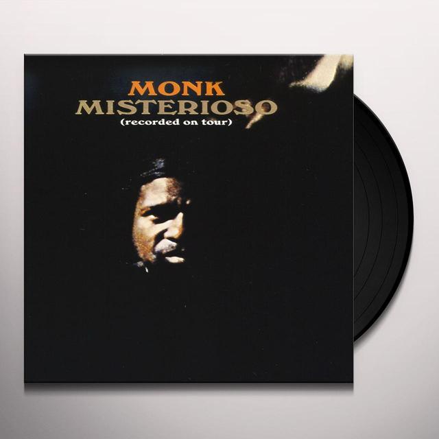 Thelonious Monk MISTERIOSO Vinyl Record
