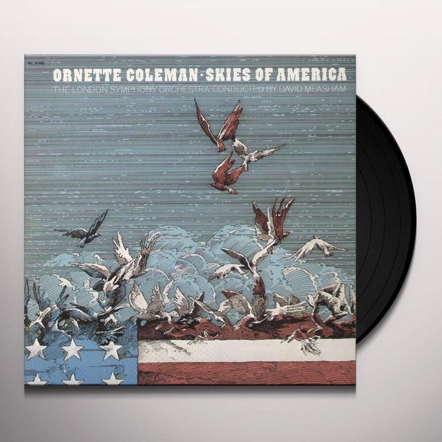 Ornette Coleman SKIES OF AMERICA Vinyl Record - 180 Gram Pressing
