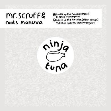 Mr. Scruff NICE UP THE FUNCTION Vinyl Record