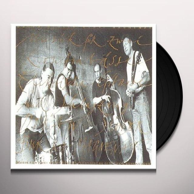 Doran / Studer / Magnenat / Burri FUR 2 KONTRABASSE E-GIT DRUM Vinyl Record