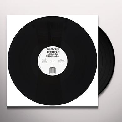 Snuff Crew LOVEFREAK (EP) Vinyl Record