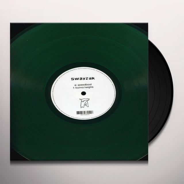 Swayzak SPEEDBOAT & BURMA HEIGHTS Vinyl Record