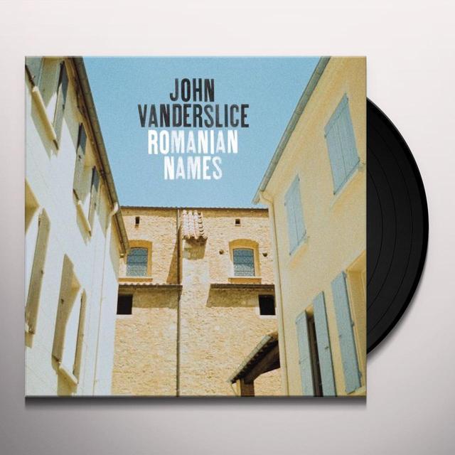 John Vanderslice ROMANIAN NAMES Vinyl Record