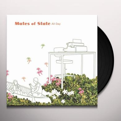 Mates Of State ALL DAY Vinyl Record - 180 Gram Pressing, Digital Download Included