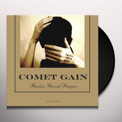 Comet Gain BROKEN RECORD PRAYERS Vinyl Record