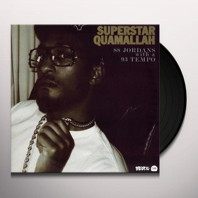 Superstar Quamallah 88 JORDAN WITH A 93 TEMPO Vinyl Record