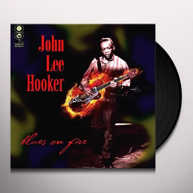 John Lee Hooker BLUES ON FIRE Vinyl Record