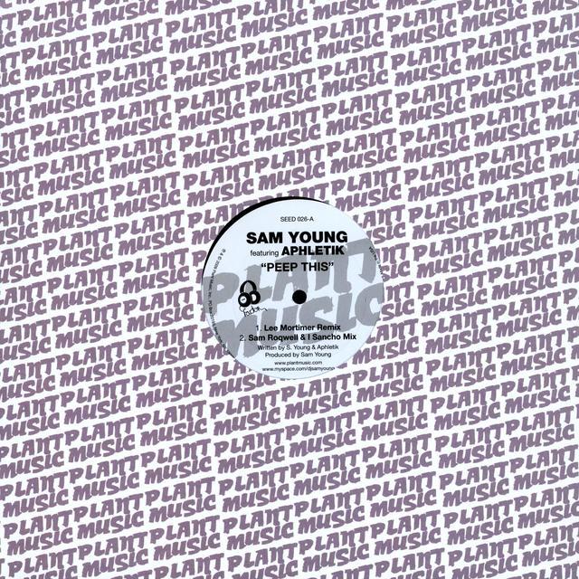 Sam Young PEEP THIS Vinyl Record