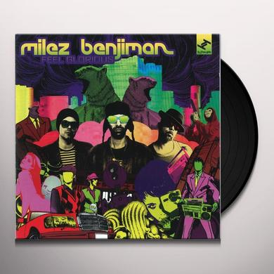 Milez Benjiman FEEL GLORIOUS Vinyl Record