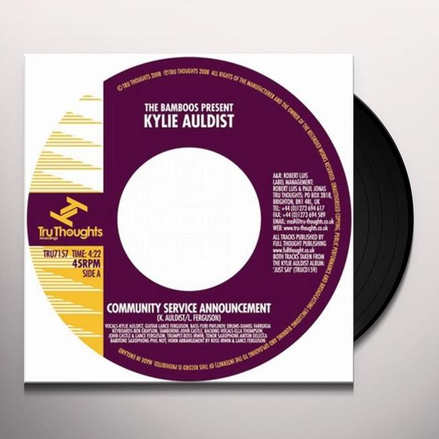 Kylie Auldist COMMUNITY SERVICE ANNOUNCEMENT Vinyl Record