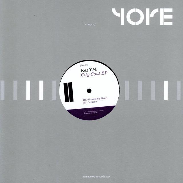 Kez Ym CITY SOUL (EP) Vinyl Record