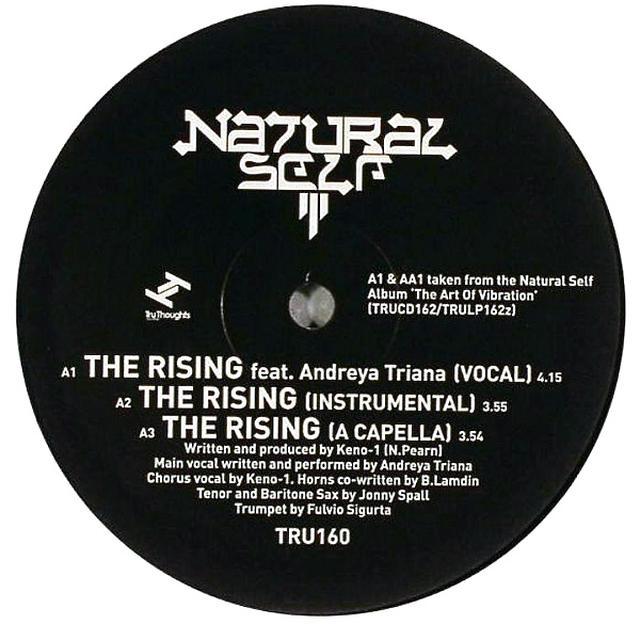 Natural Self RISING Vinyl Record