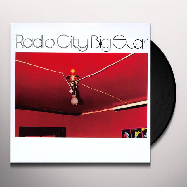 Big Star RADIO CITY (RSTR) Vinyl Record