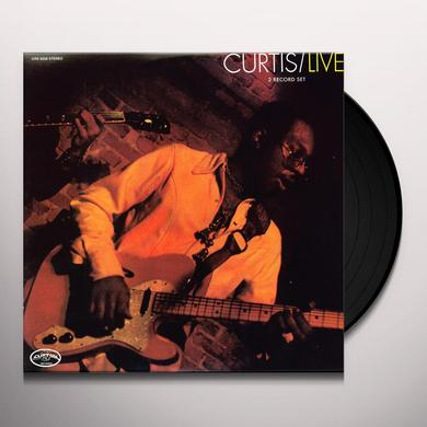 Curtis Mayfield LIVE Vinyl Record