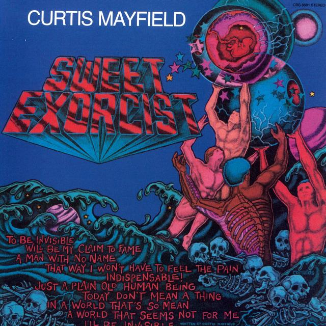 Curtis Mayfield SWEET EXORCIST Vinyl Record