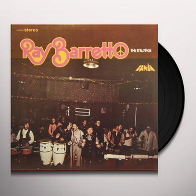 Ray Barretto MESSAGE Vinyl Record
