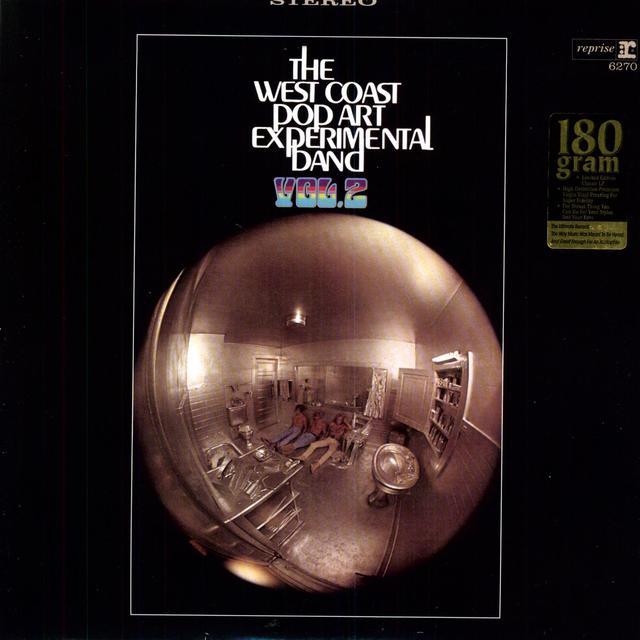 The West Coast Pop Art Experimental Band VOLUME 2 Vinyl Record