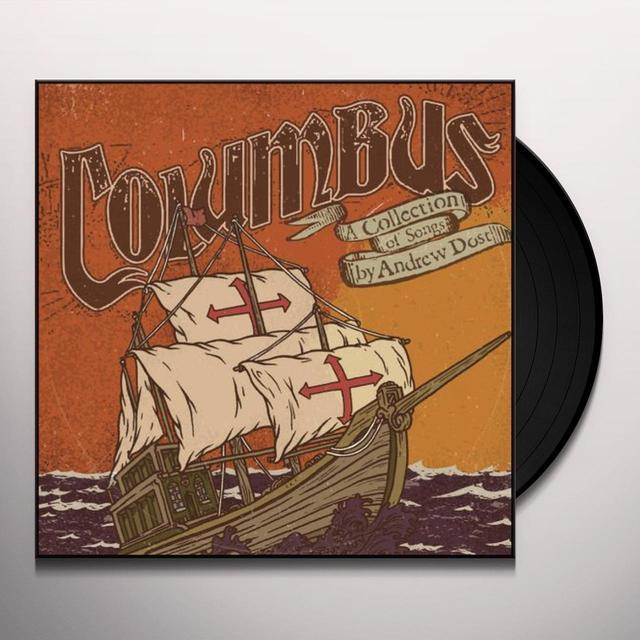 Andrew Dost COLUMBUS Vinyl Record